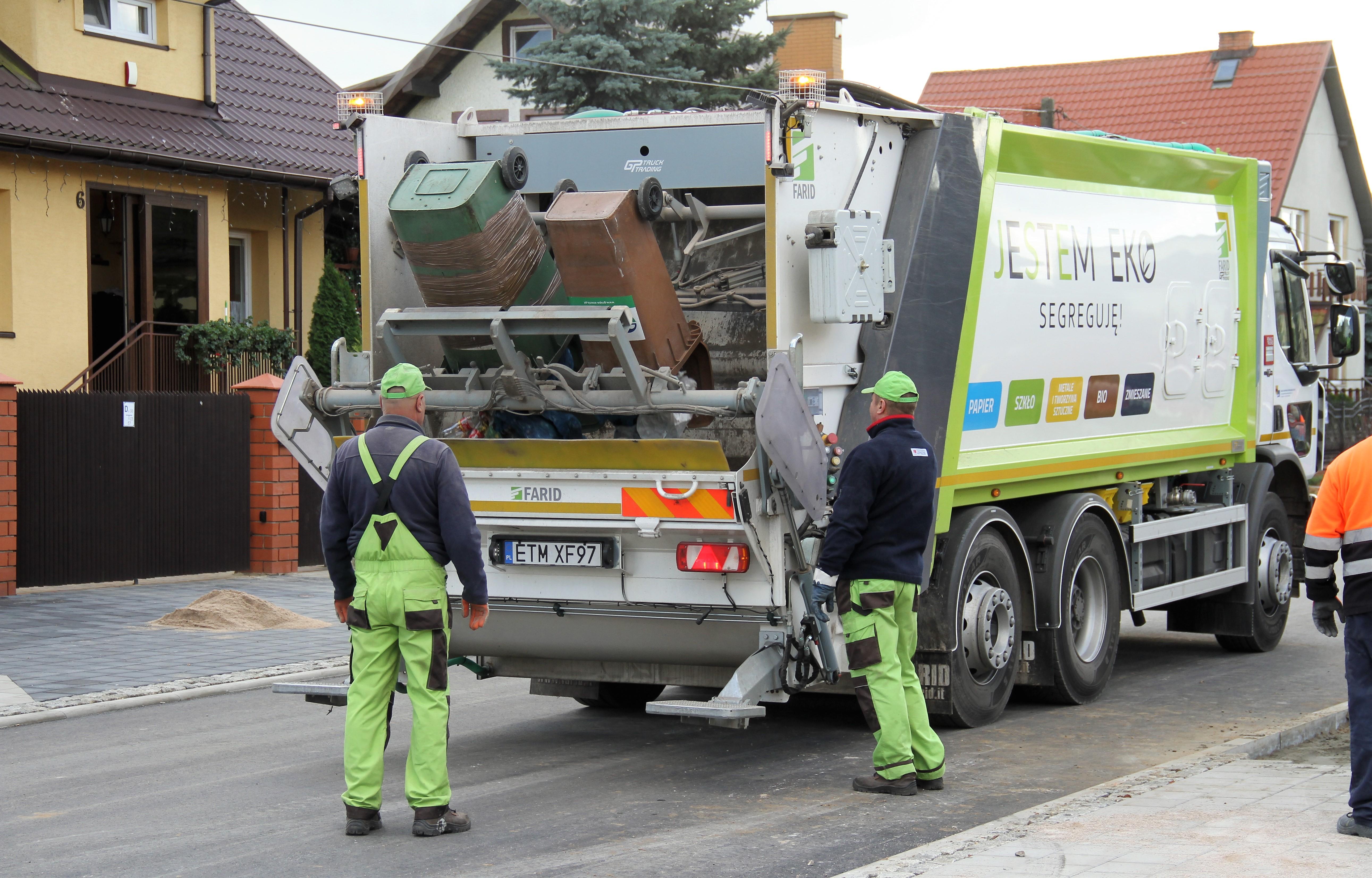 śmieciarka eko