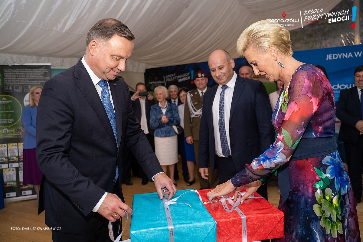 prezent dla pary prezydenckiej