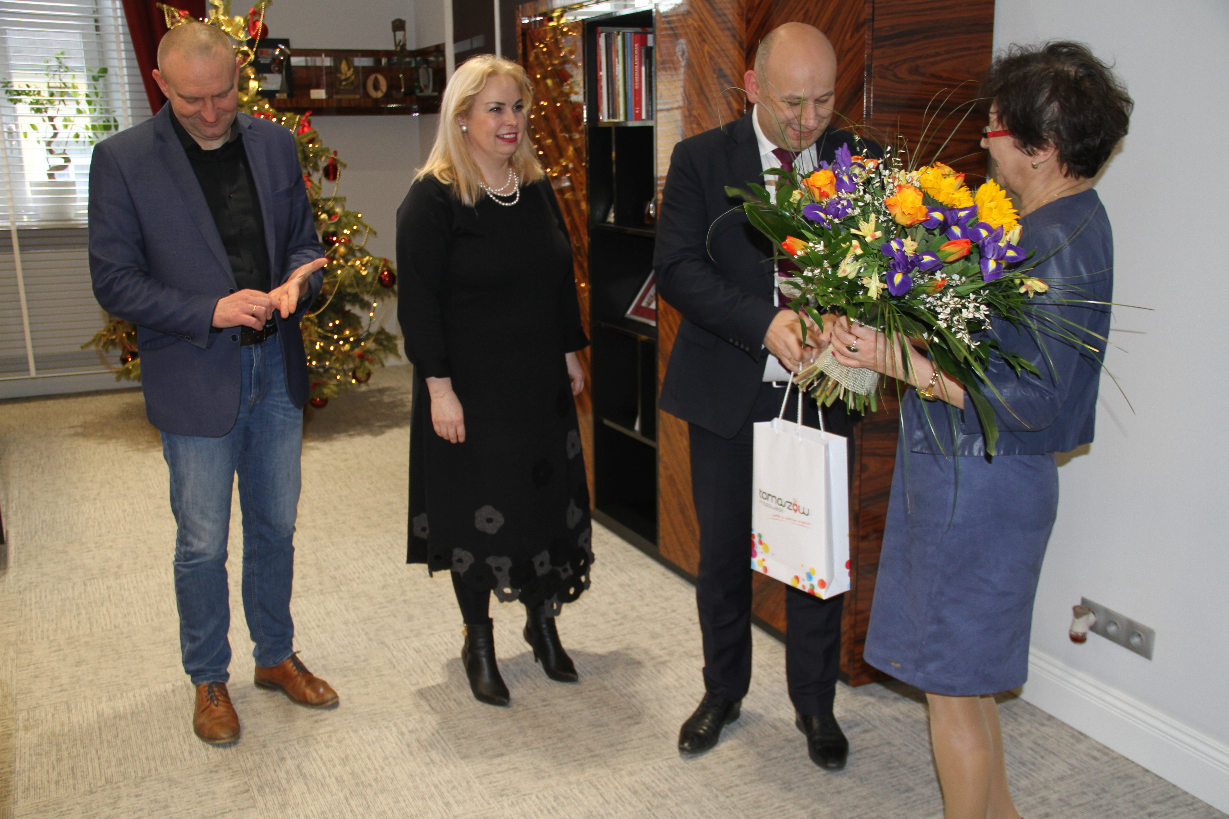 Pożegnanie Pani skarbnik Mariolii Sobolewskiej