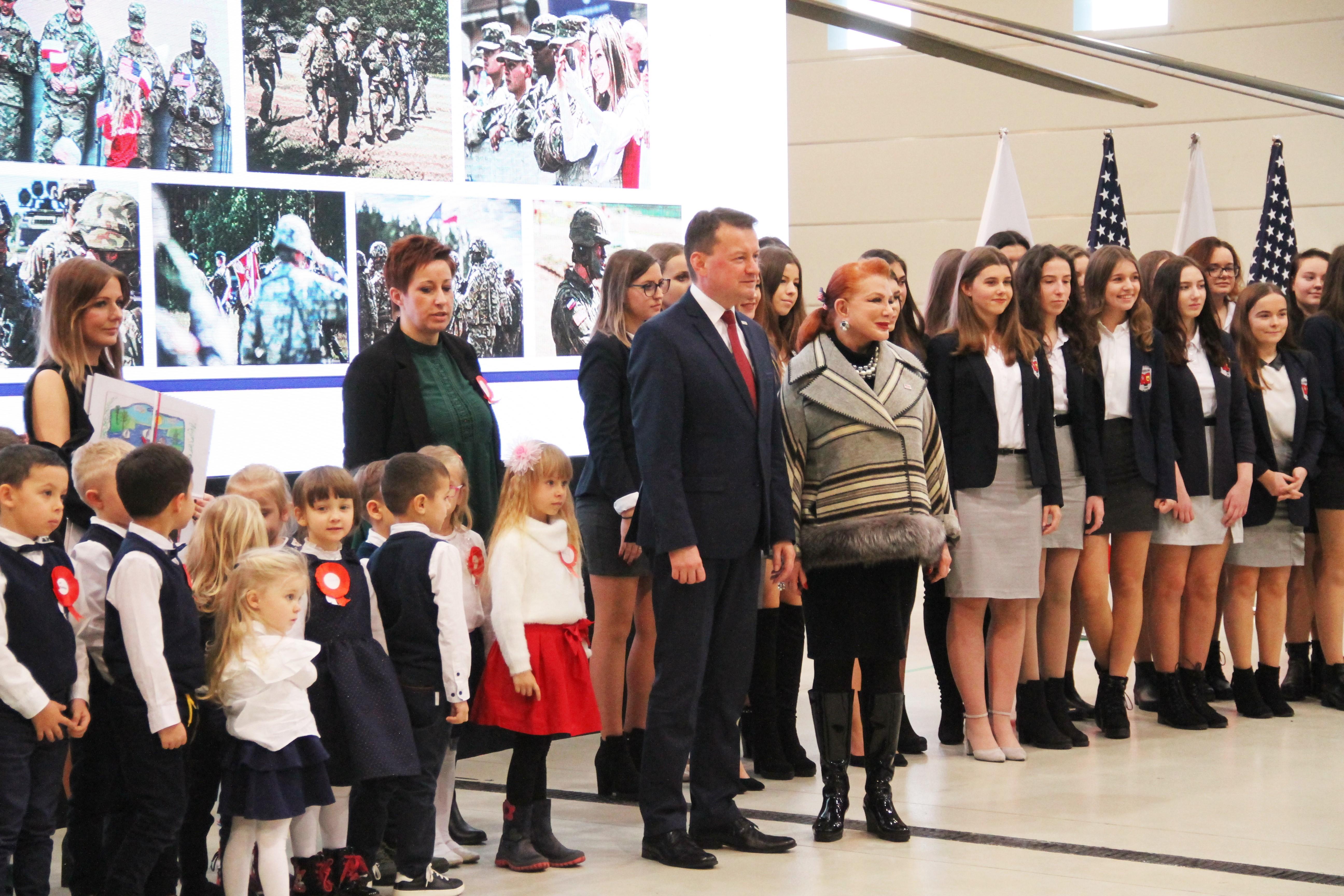 ambasador USA szef Mon w Tomaszowie