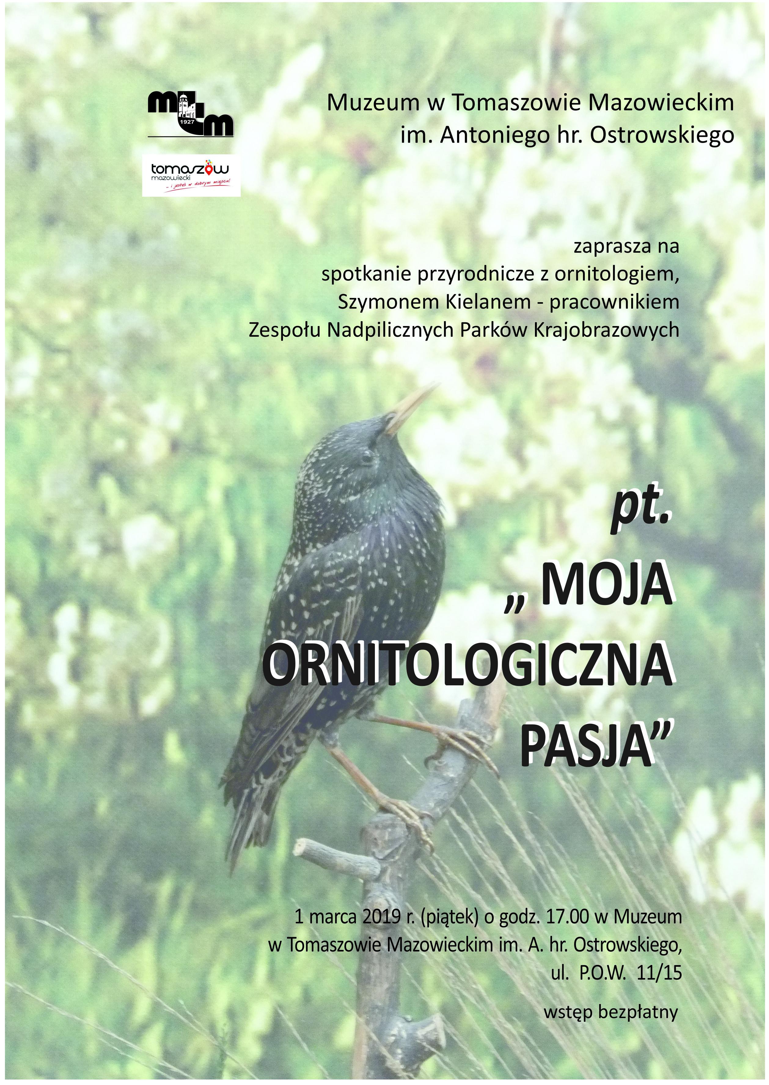spotkanie ornitologiczne w muzeum