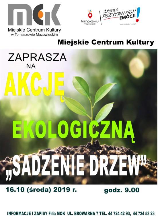 akcja ekologiczna sadzenie drzew