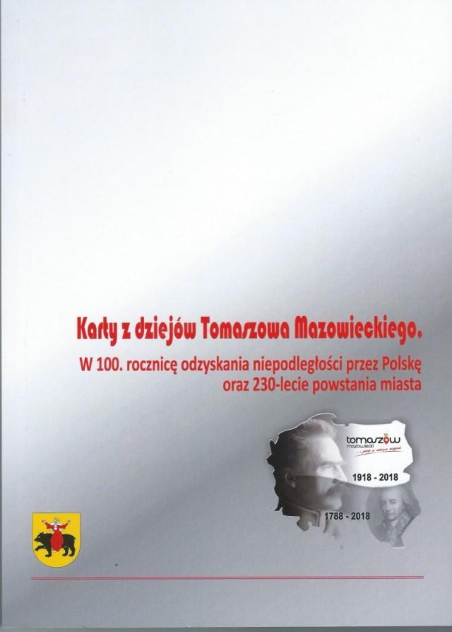 karty z dziejów tomaszowa- opracowanie zbiorowe
