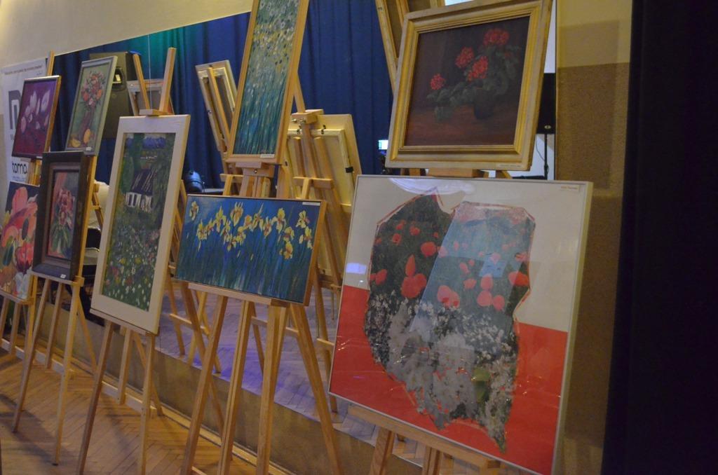 wernisaż wystawa, kwiaty polskie