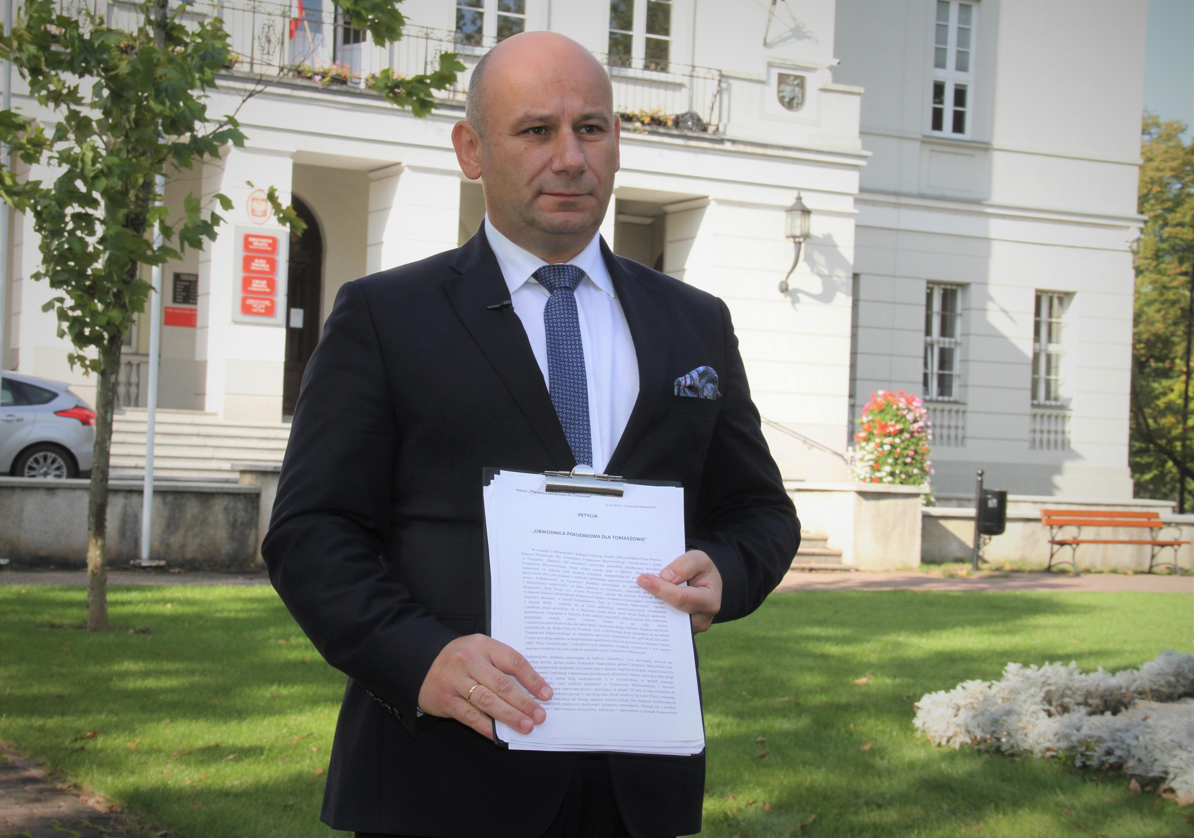 Marcin Witko petycja ws. obwodnicy