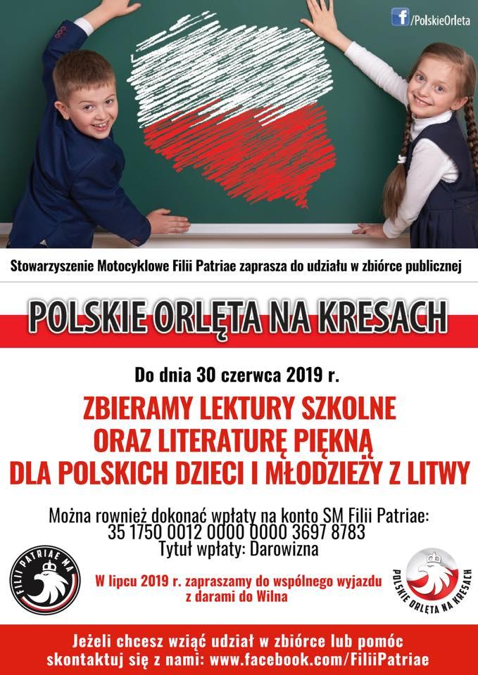 zbiórka dla dzici z Litwy