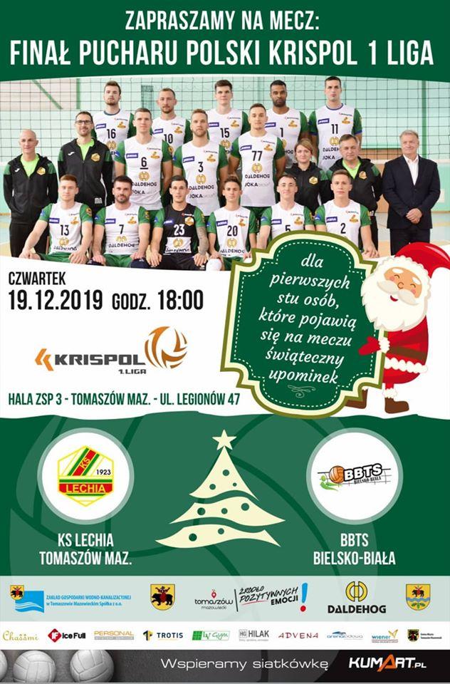 mecz siatkówki KS Lechia finał Puchar Polski