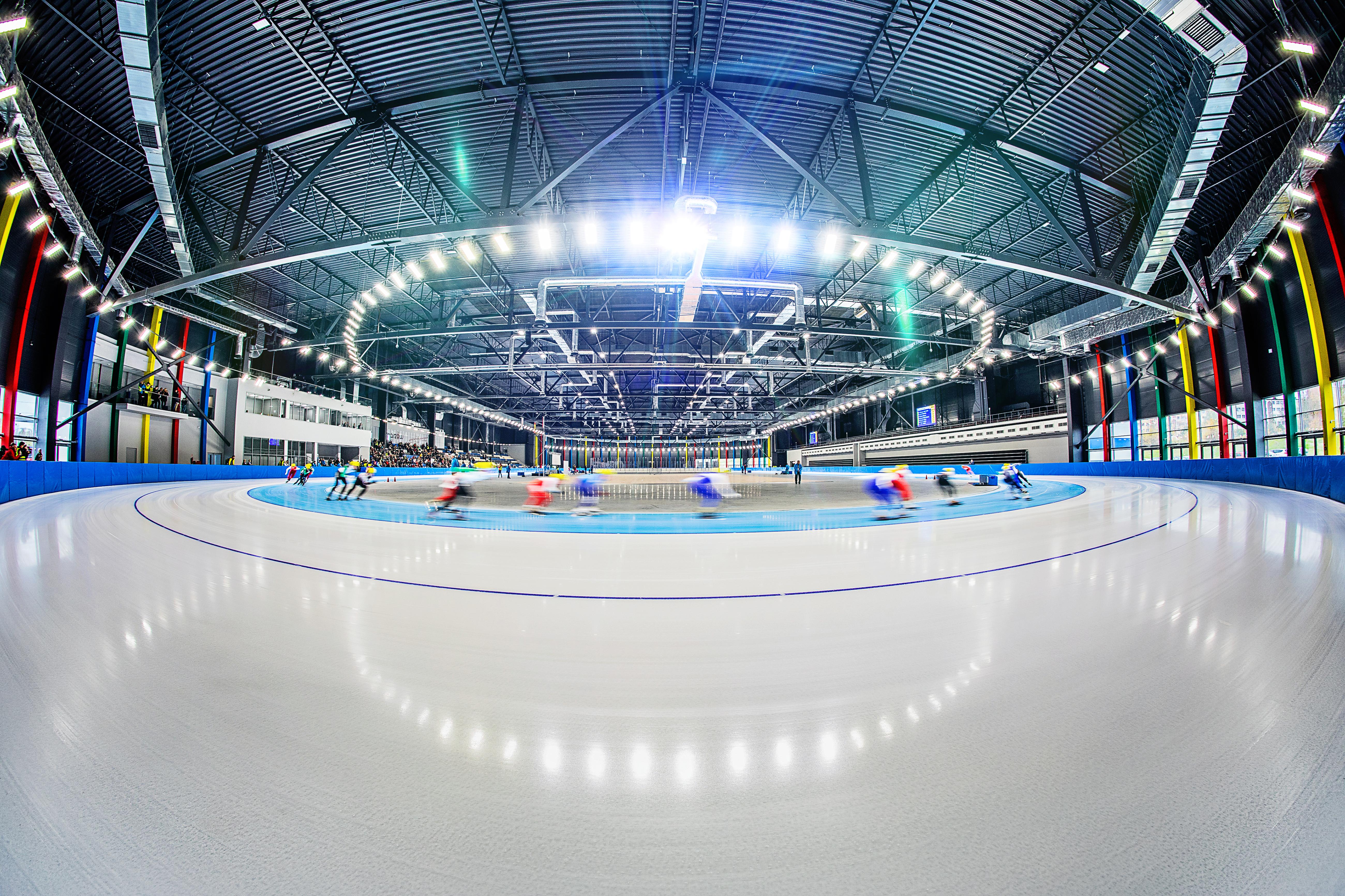 arena lodowa lód