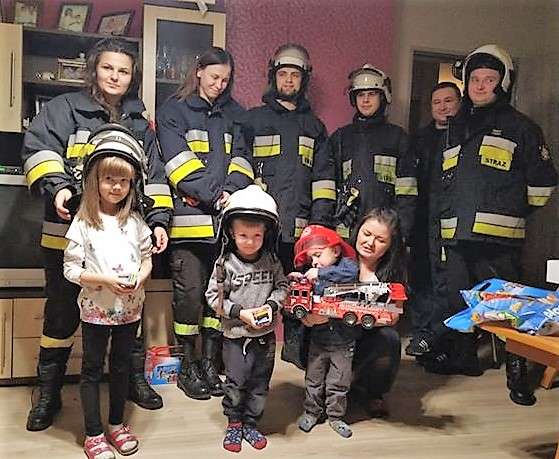 strażacy z Ludwikowa u Olusia 2019