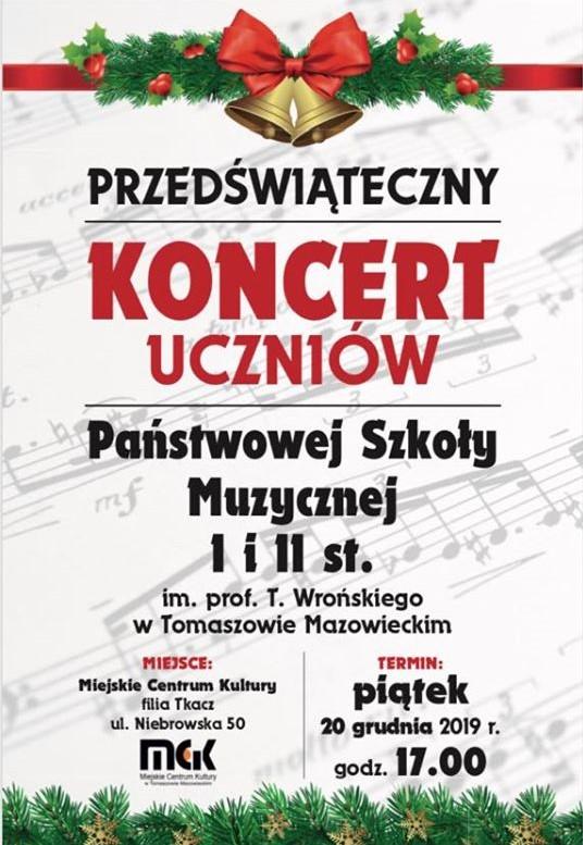 koncert przedświąteczny PSM 2019