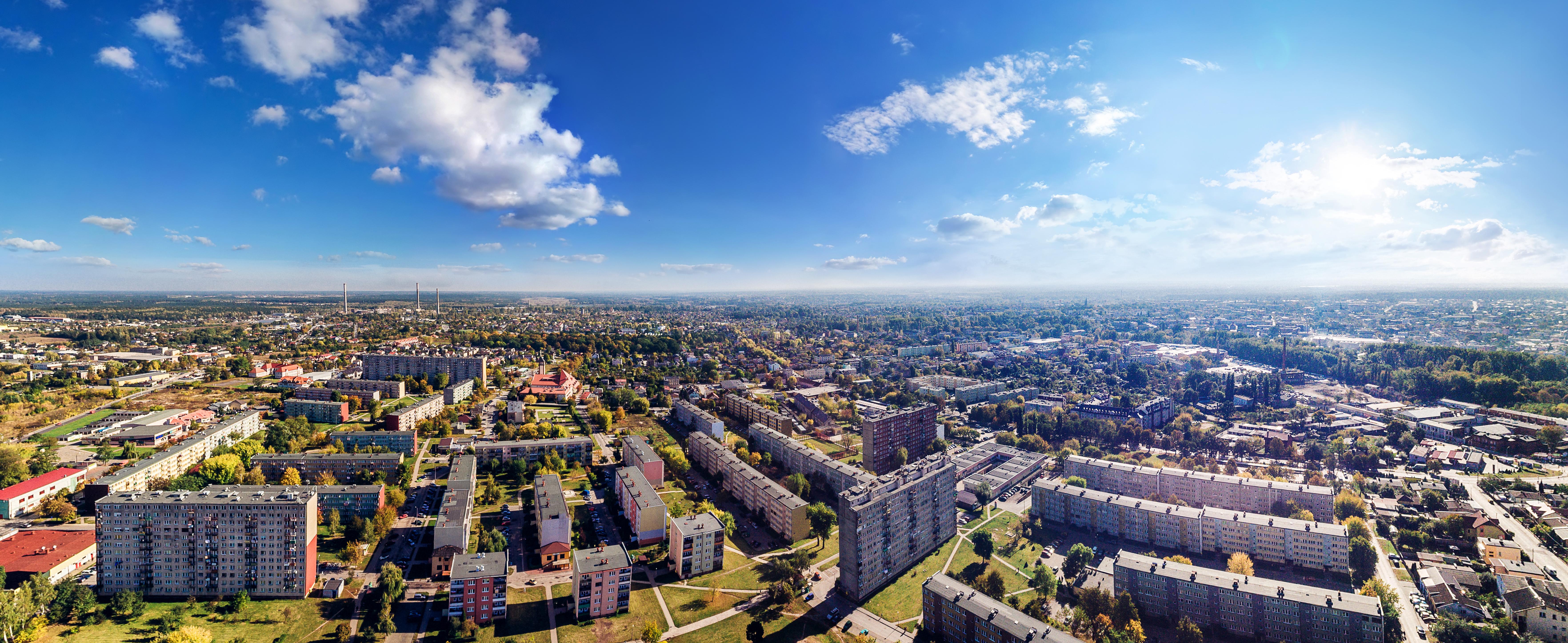 Tomaszów Mazowiecki panorama
