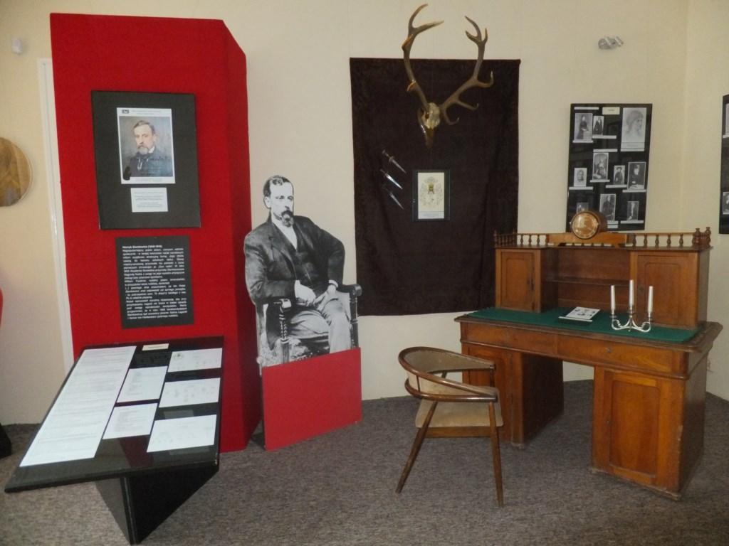Zdjęcie z wystawy w tomaszowskim muzeum