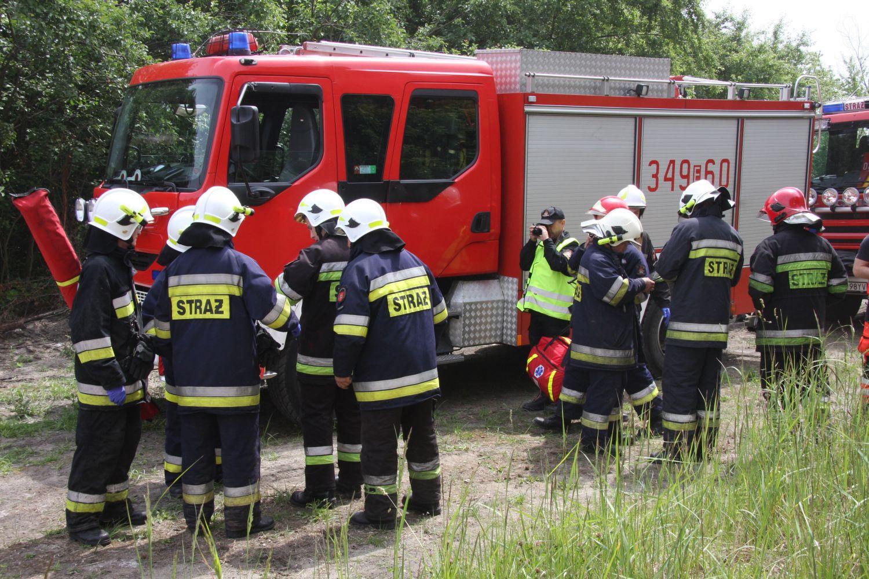 Zdjęcie wozu strażackiego ilustrujące artykuł