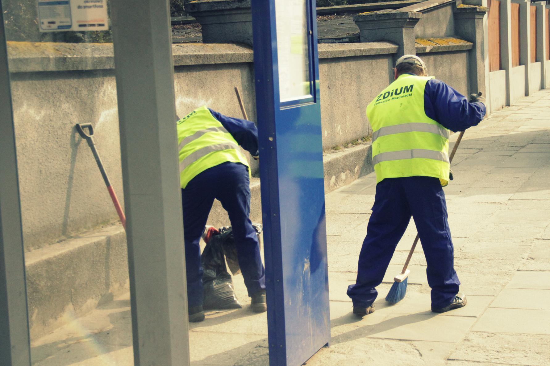 Sprzątanie miasta