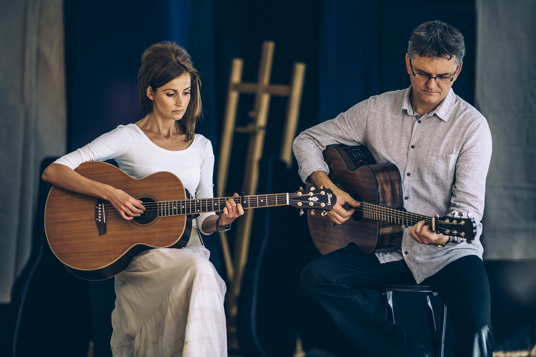 Dominika Żukowska i Andrzej Korycki