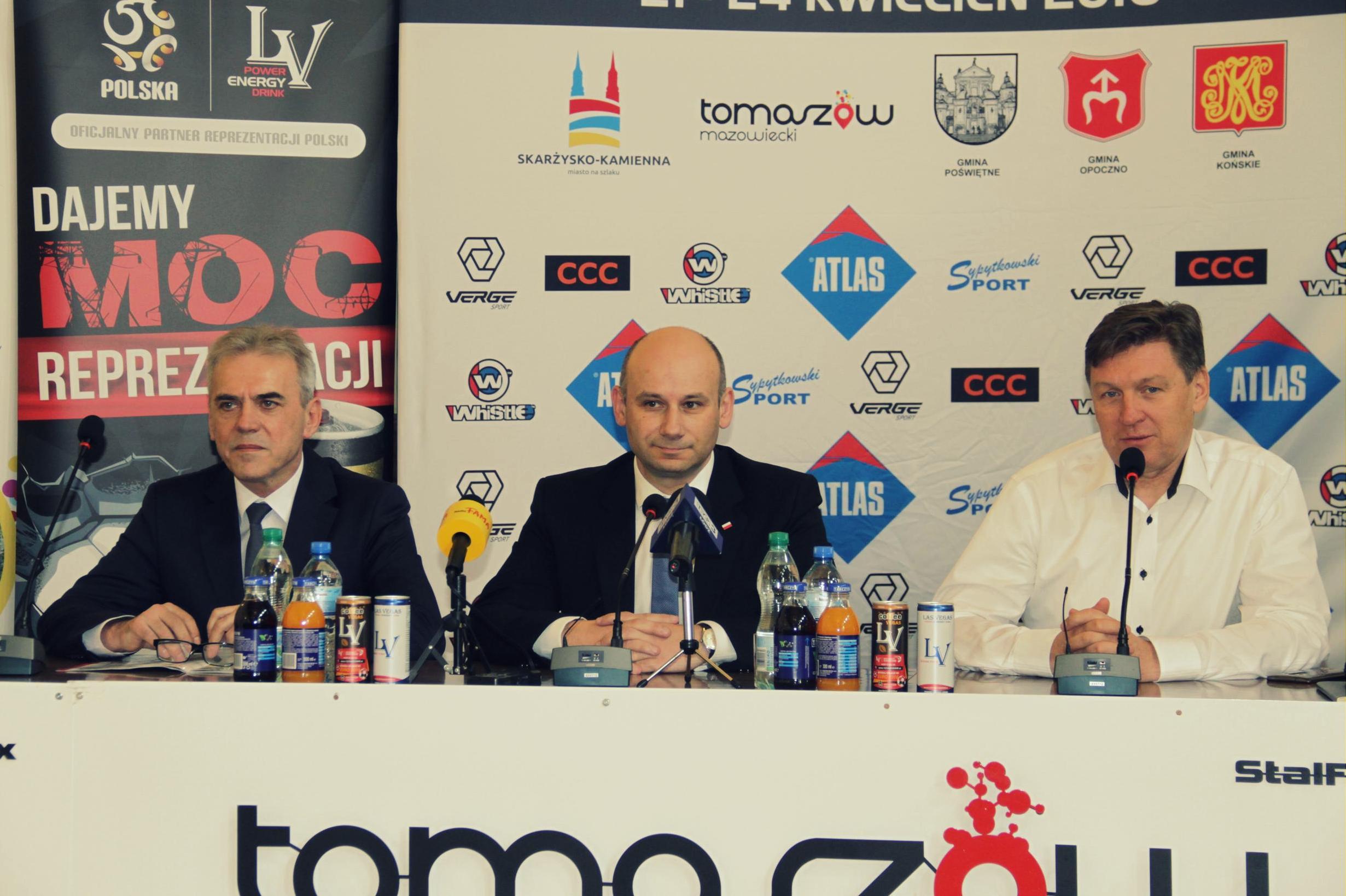 Konferencja prasowa - wyścig kolarski Szlakiem walk majora Hubala