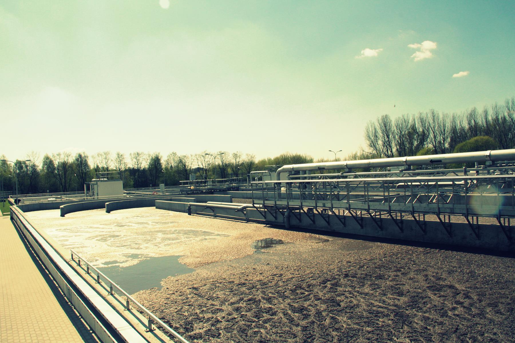 Zmodernizowana oczyszczalnia ścieków