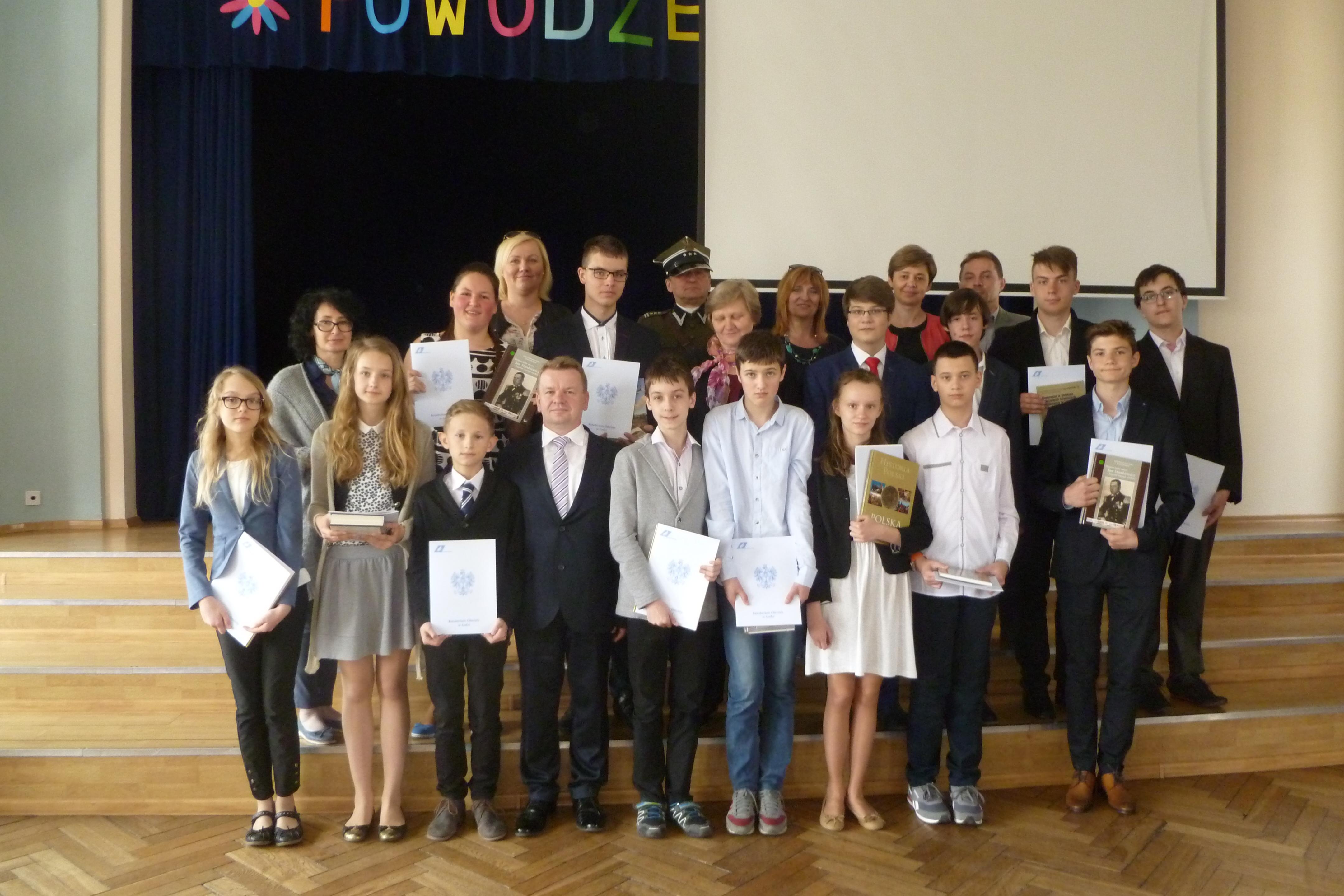 Zdjęcie laureatów