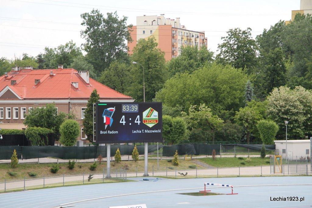 Osiem bramek w meczu Lechii