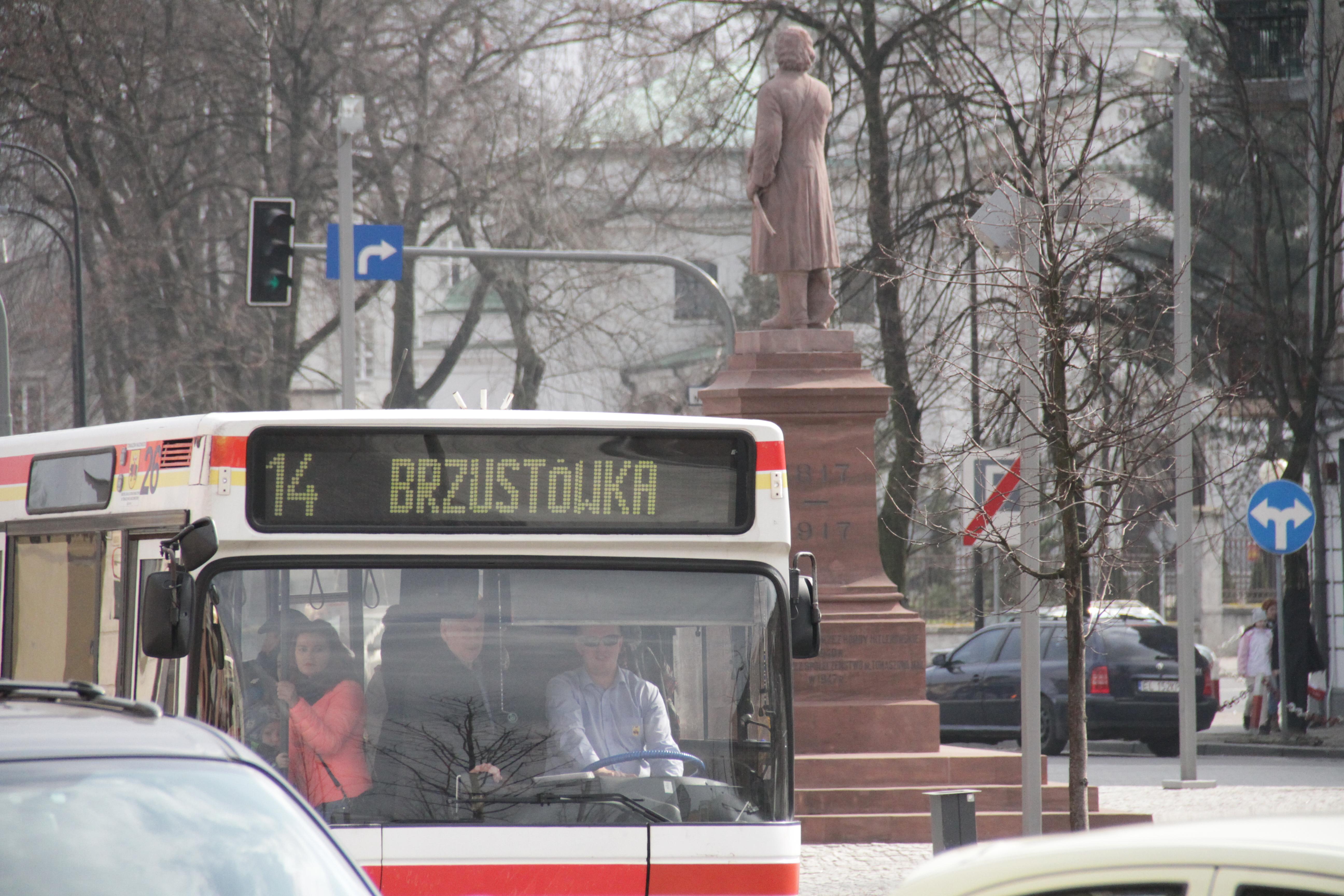 Autobus linii nr 14