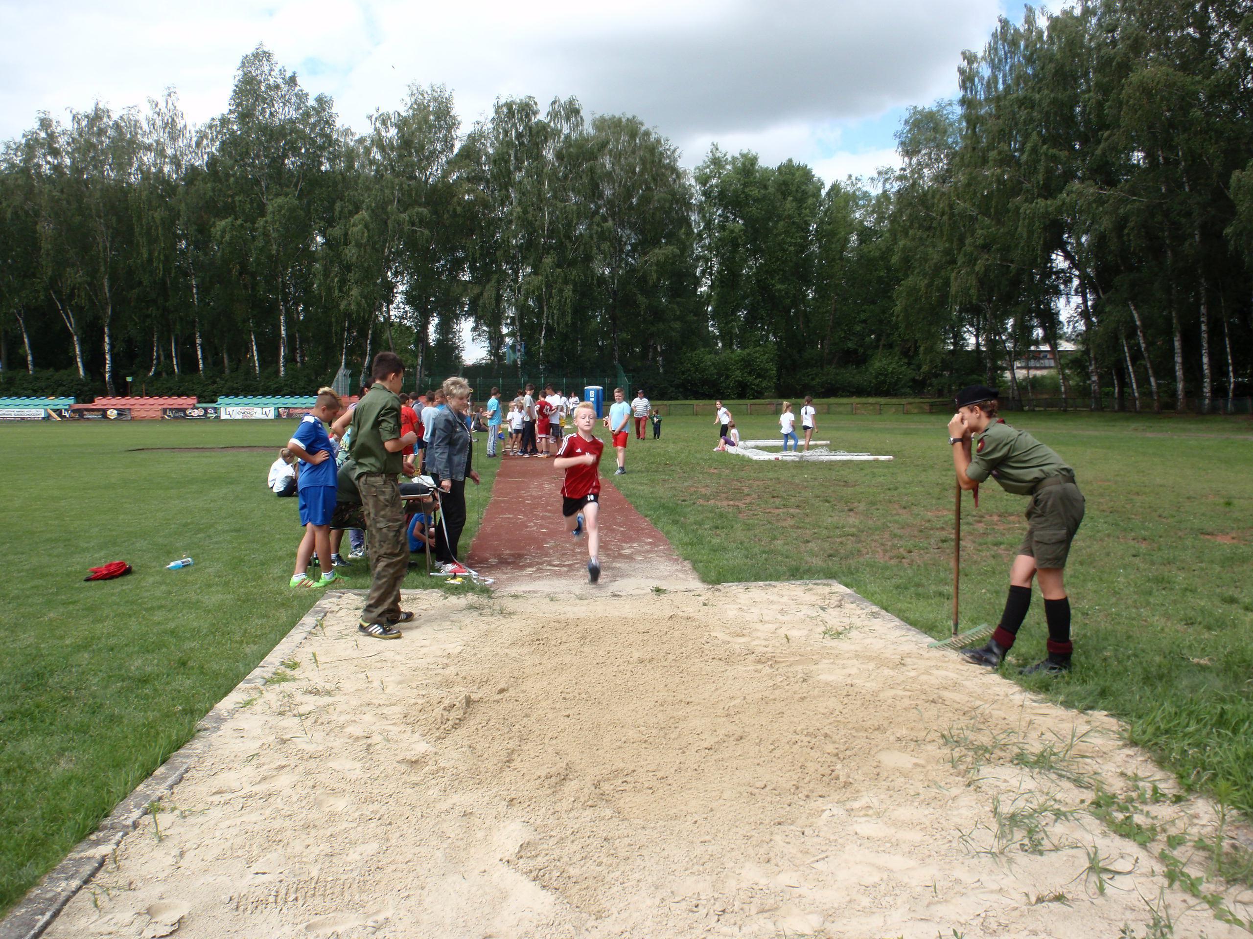 Zdjęcie z olimpiady w Tomaszowie