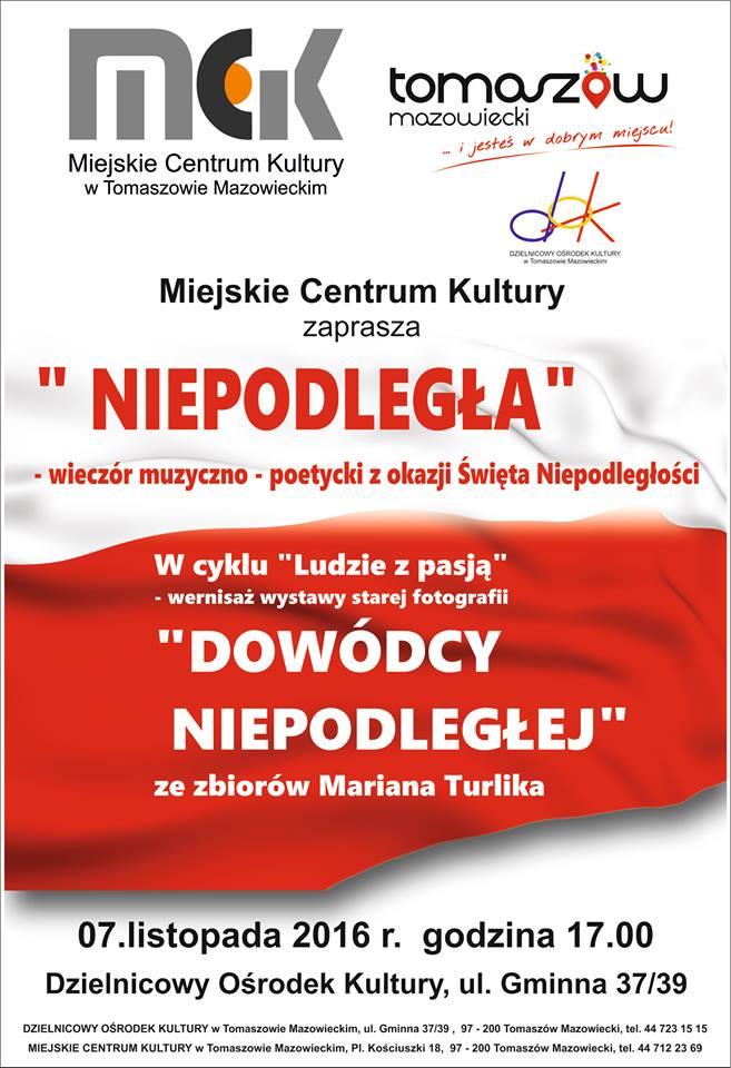 Plakat z informacjami o projekcie