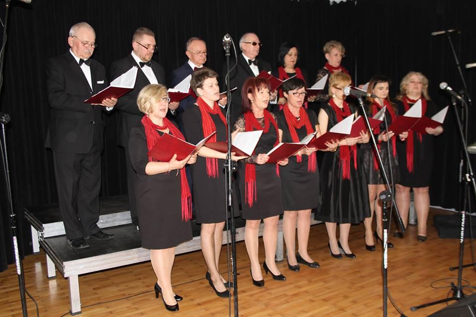 Zdjęcie z występu chóru