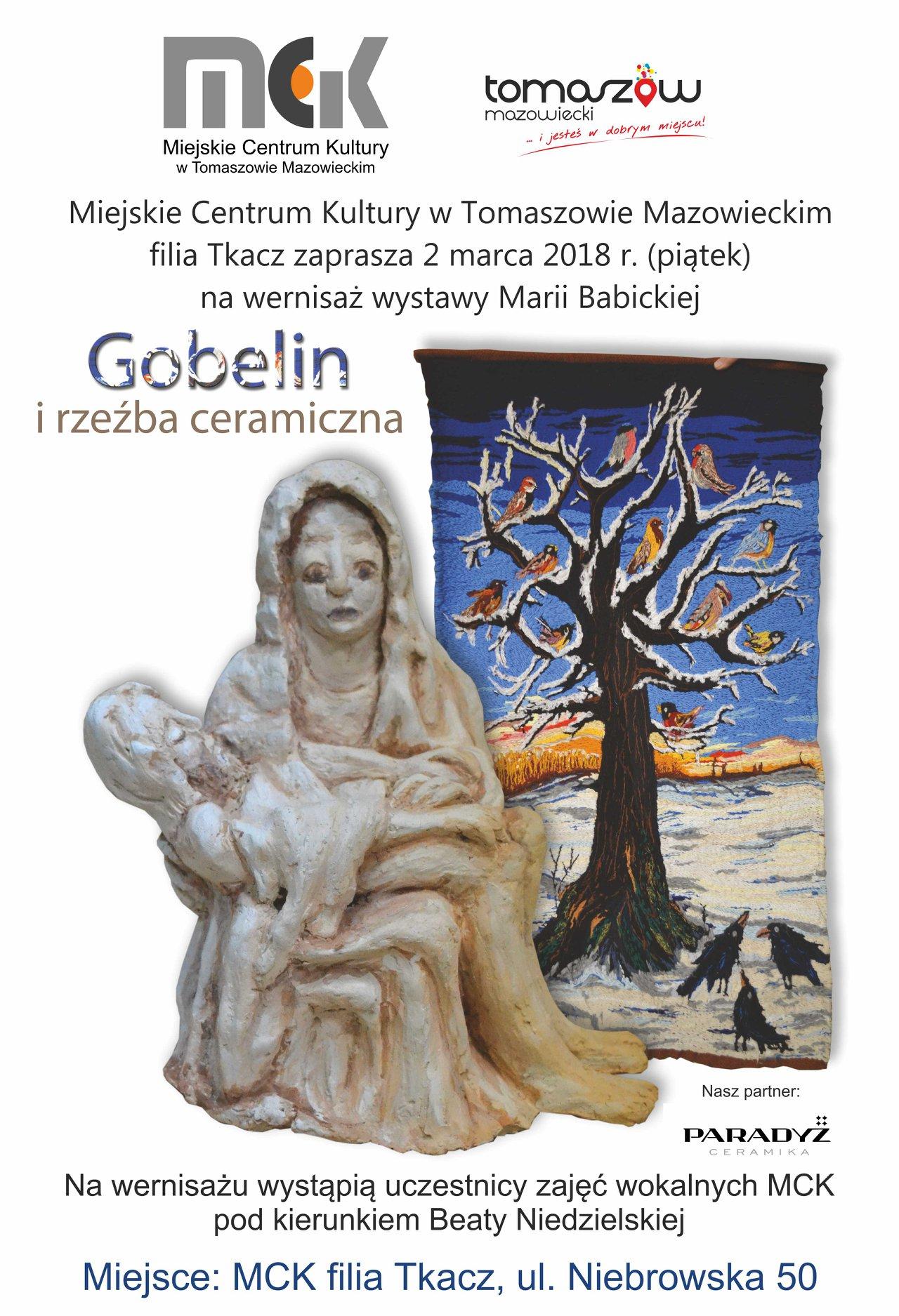 plakat informacyjny, wystawa