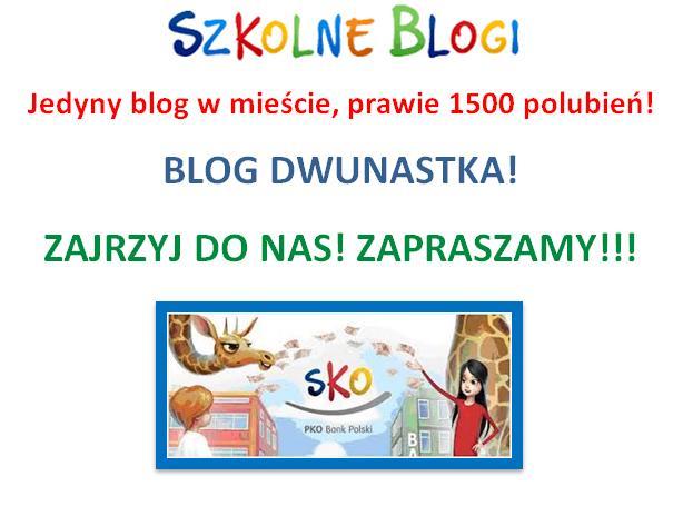 Grafika promująca blog