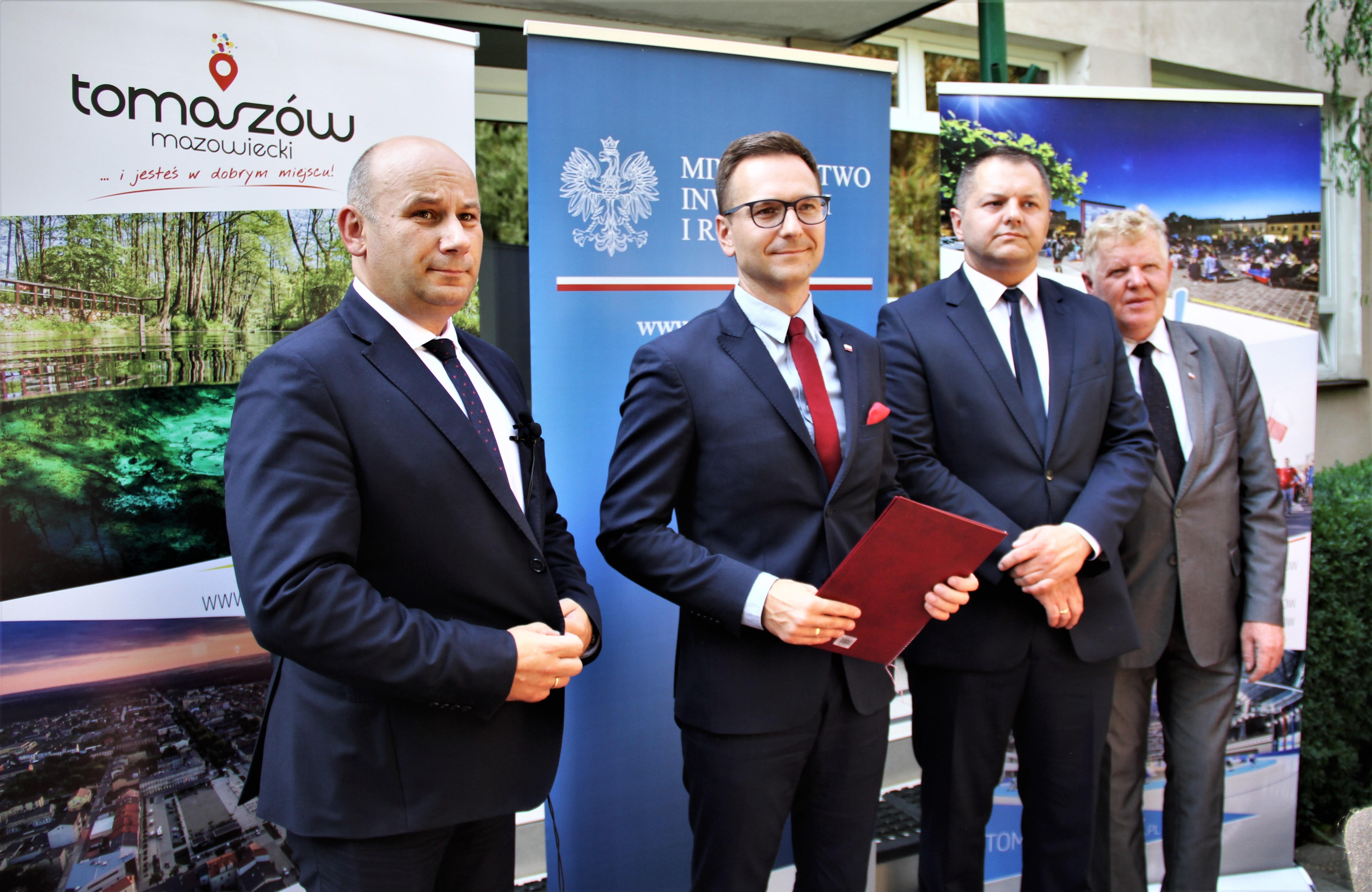 Na zdjęciu Marcin Witko, Waldemar Buda, Rafał Ambrozik oraz Grzegorz Wojciechowski