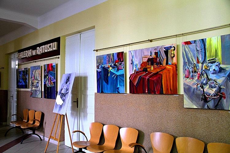 Zdjęcie wystawy w Ratuszu