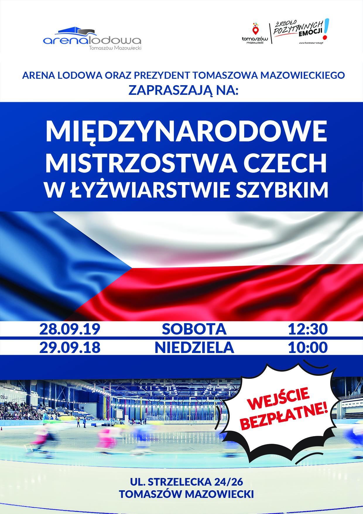 plakat mistrzostw czech