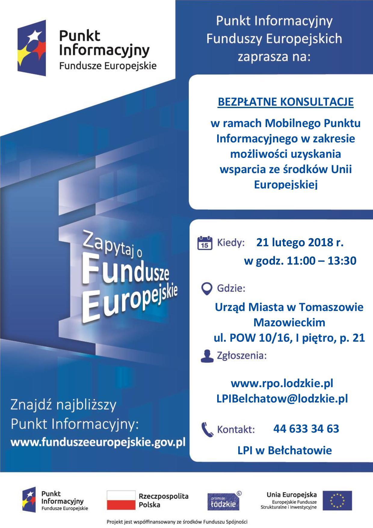 plakat z informacjami o spotkaniu