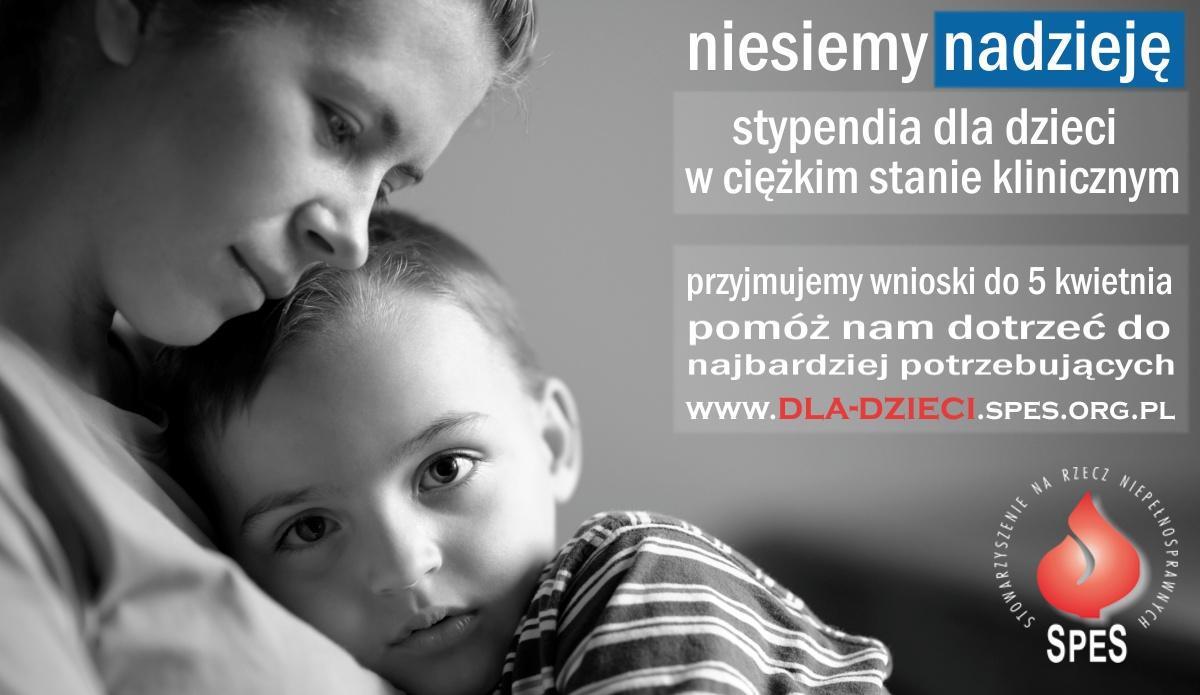Grafika ilustrująca program pomocy dzieciom (matka z dzieckiem)