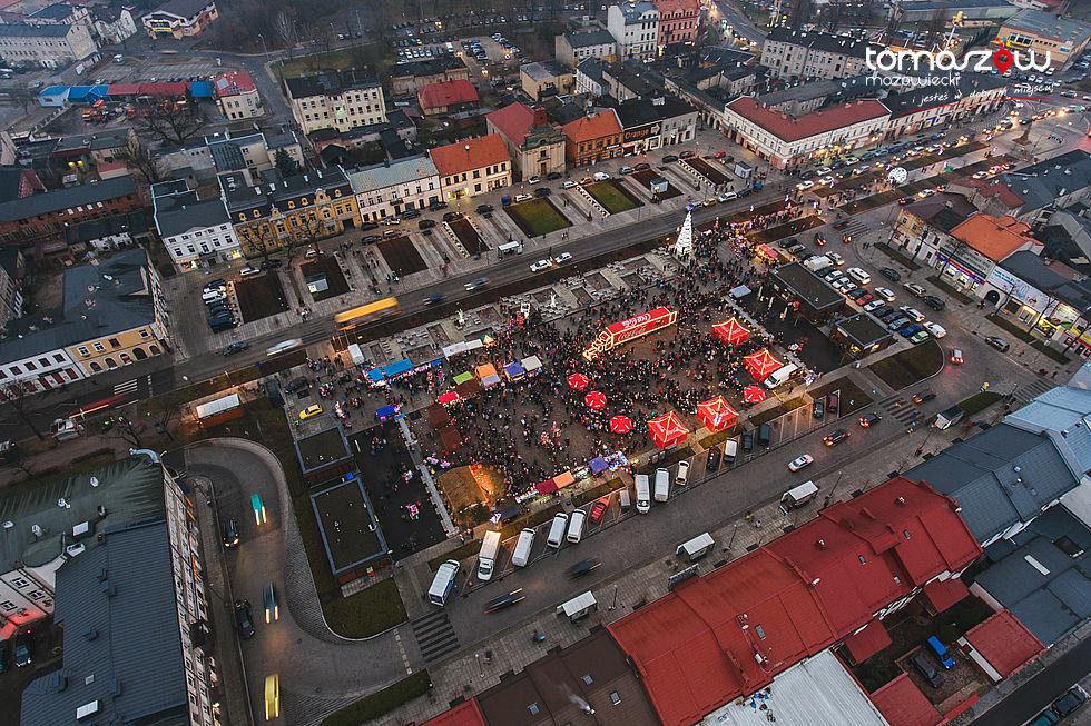 Coca - cola na placu Kościuszki