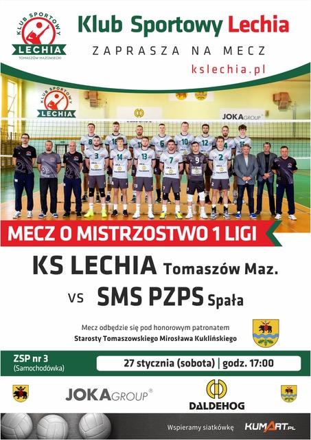 Plakat informujący o meczu