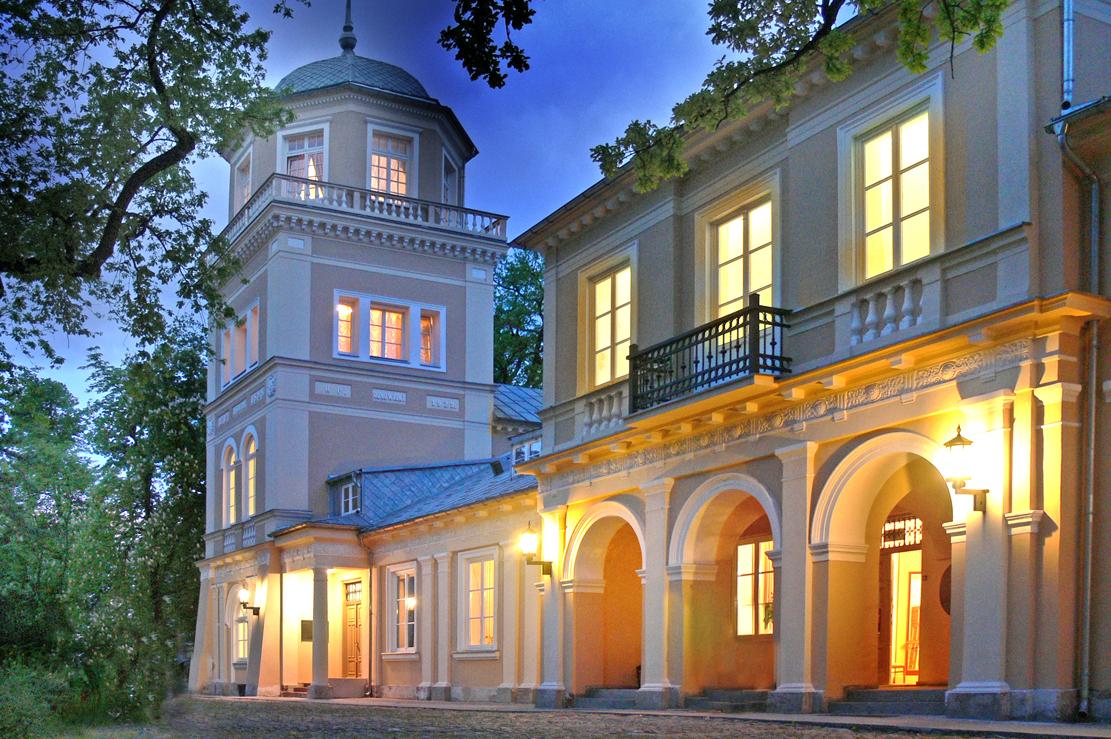 zdjęcie nocne muzeum