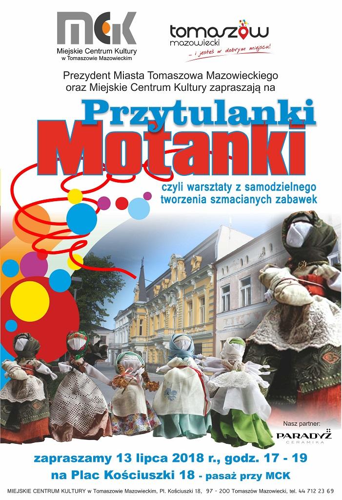 plakat kulturalnego piątku - szmacianki