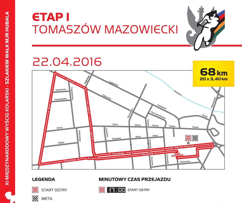 Etam I - mapa