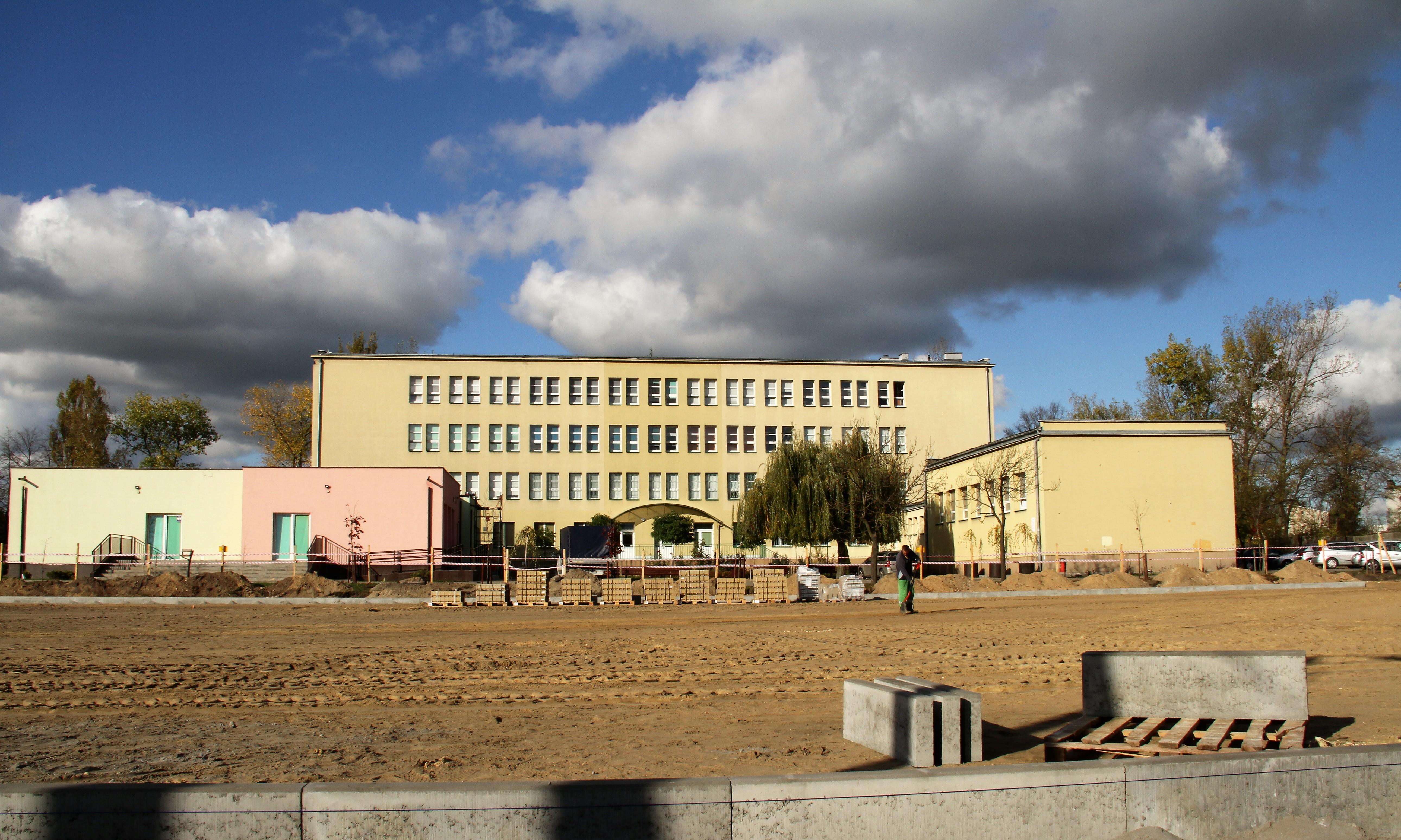 boisko SP 13 budowa