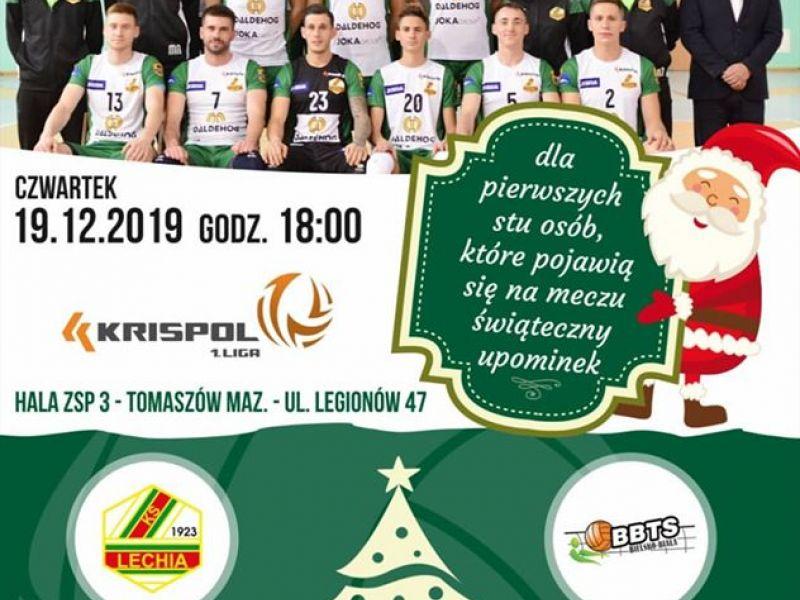 mecz siatkówki Lechia Tomaszów