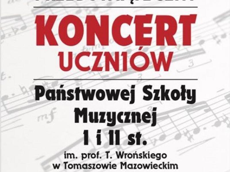 koncert uczniów PSM