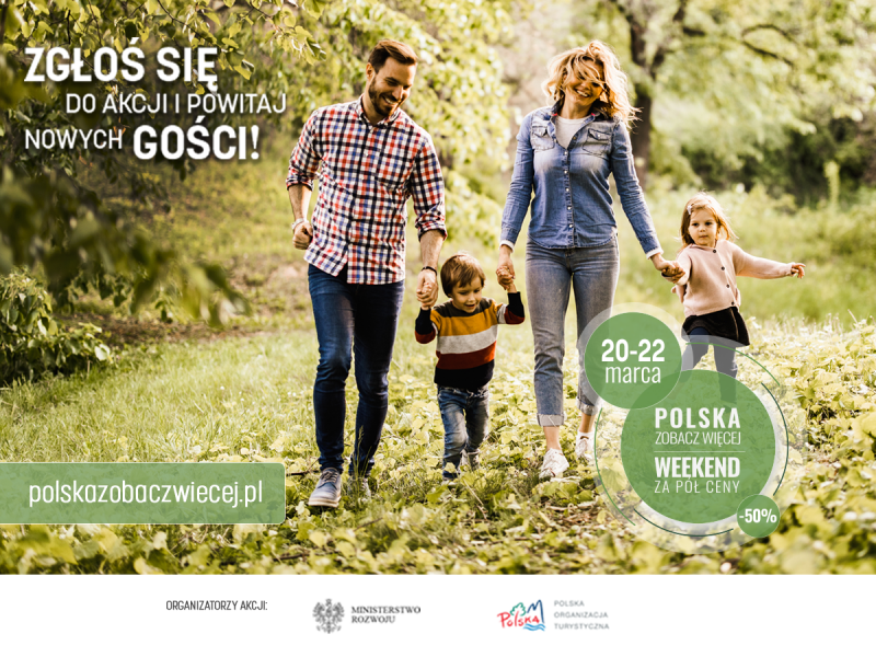 Polska zobacz więcej - weekend za pół ceny - nabór
