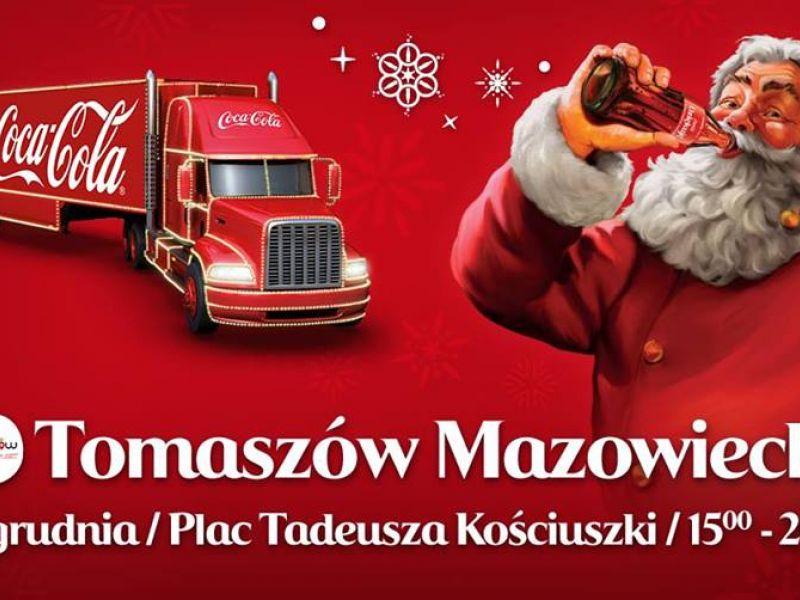 Świąteczna ciężarówka Coca-Cola stanie na pl. Kościuszki