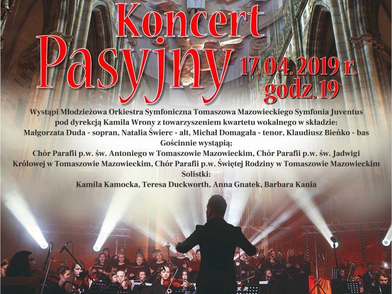 """Zaproszenie na Koncert Pasyjno-Wielkanocny """"Błogosławieni Miłosierni…"""""""