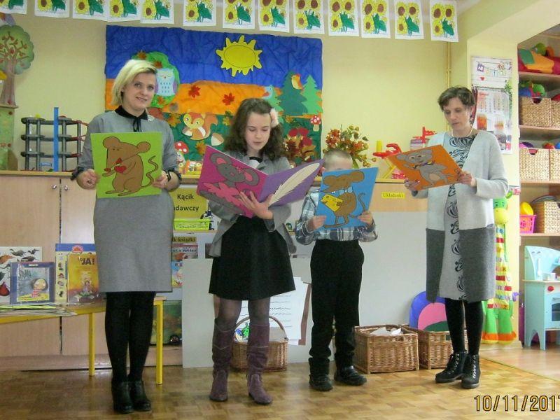 Bajkoterapia w Przedszkolu nr 10 z Klubem Przyjaciół Literatury