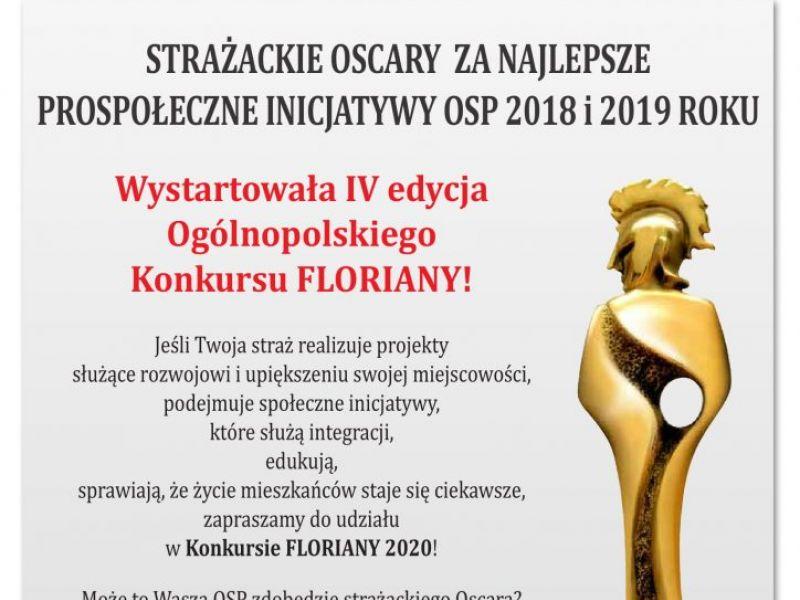 Floriany 2020 - wystartowała 4. edycja konkursu