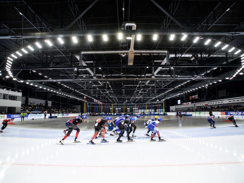 Umowa podpisana. Puchar Świata w łyżwiarstwie szybkim w Arenie Lodowej