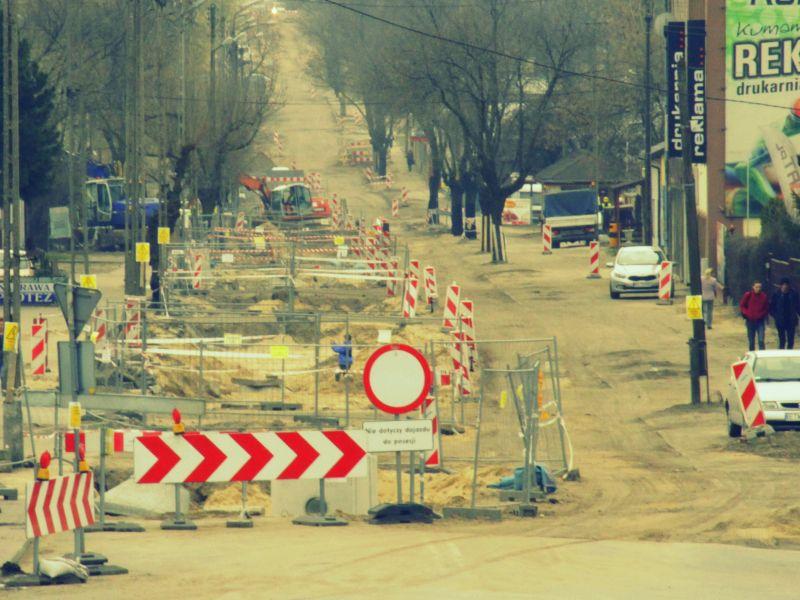 Trwa przebudowa dróg. Musimy wykorzystać dofinansowania