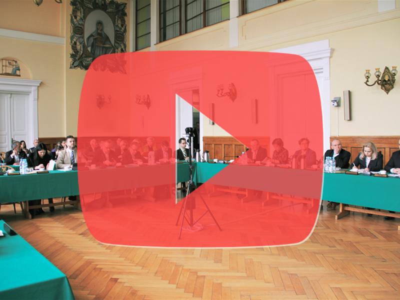 XIV sesji Rady Miejskiej [WIDEO]